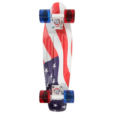 Penny Penny USA Flag Cruiser Skateboard Complete 2014