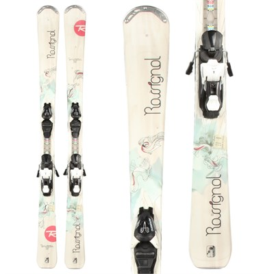 Rossignol Temptation 82 Skis + Atomic XT 7 Demo Bindings - Used - Women's 2012