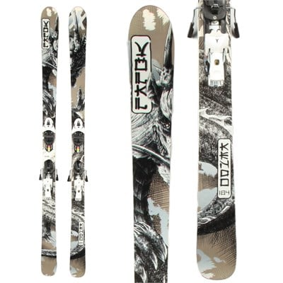 Volkl Kendo Skis + Atomic XT 12 Demo Bindings - Used 2013