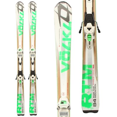 Volkl RTM 84 Skis + Marker Wide Ride 12 Demo Bindings - Used 2012