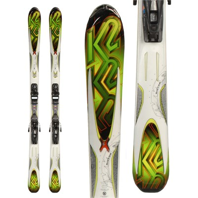 K2 Rictor Skis + Look NX 10 Demo Bindings - Used 2011