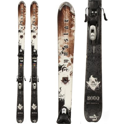 Dynastar Legend 8000 Skis + Tyrolia SP 120 Demo Bindings - Used 2009
