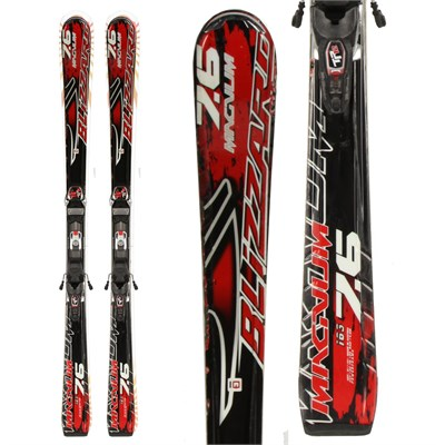 Blizzard Magnum 7.6 IQ Skis + iPT 12 Demo Bindings - Used 2011