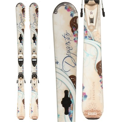 Dynastar Exclusive Sensation Skis + Nova 9 Demo Bindings - Used - Women's 2010