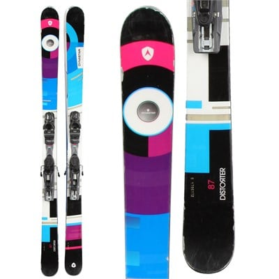 Dynastar Distorter Skis + NX 12 Demo Bindings - Used 2014