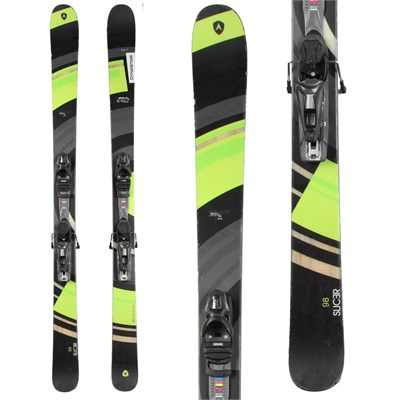 Dynastar Slicer Skis + NX 12 Demo Bindings - Used 2014