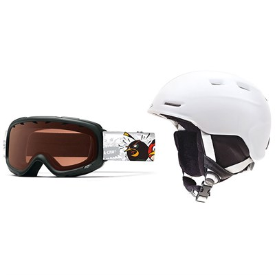 Smith Zoom/Sidekick Helmet and Goggle Combo - Kid's