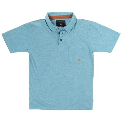 Billabong Standard Issue Short Sleeve Polo Shirt (Ages 8-14) - Boy's