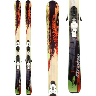 Nordica Steadfast Skis + Atomic XT 12 Demo Bindings - Used 2013