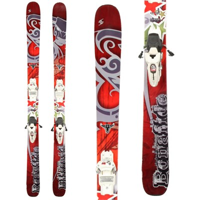 Blizzard Bonafide Skis + Marker Griffon Demo Bindings - Used 2012