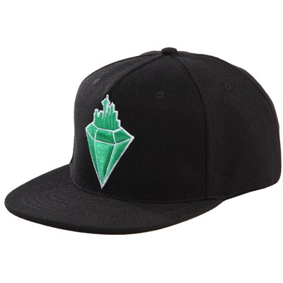 Casual Industrees Emerald City Snapback Hat
