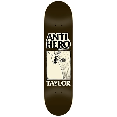 Anti Hero Taylor Lance Mountain Guest Art 8.5 Skateboard Deck