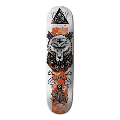 Element Garcia In Bloom 7.75 Skateboard Deck