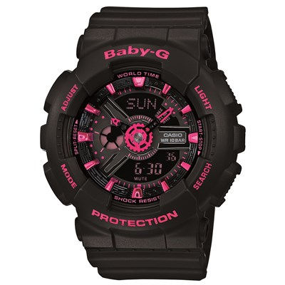 G-Shock BA-111-1A Street Neon Watch - Women's