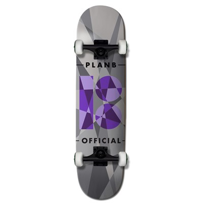 Plan B Team Jagged 7.75 Skateboard Complete