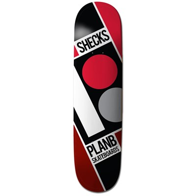 Plan B Sheckler Slanted 7.75 Skateboard Deck