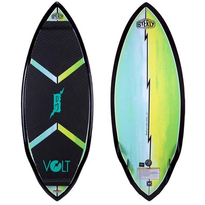 Byerly Wakeboards Volt Wakesurf Board - Blem 2014
