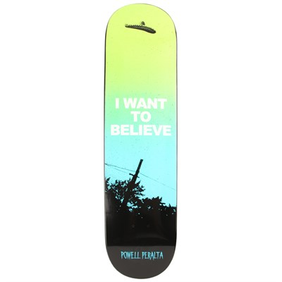 Powell Peralta Believe Fun Shape Skateboard Deck