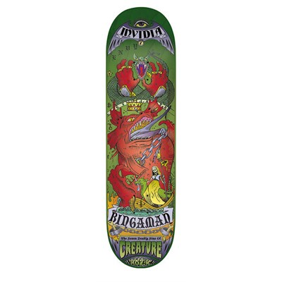 Creature Bingaman 7 Deadly Sins 8.3 Skateboard Deck