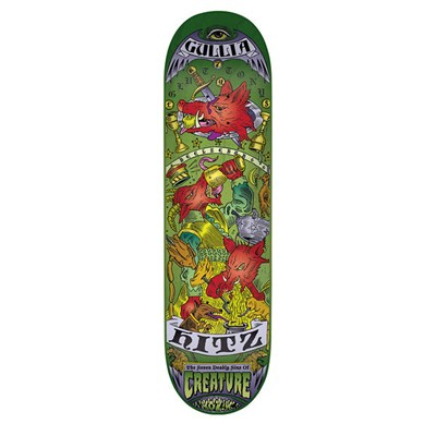Creature Hitz 7 Deadly Sins 8.8 Skateboard Deck