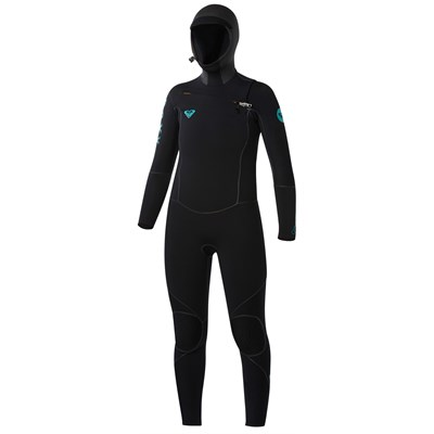 Roxy Cypher 5/4/3 Hooded Chest Zip Wetsuit - Women's