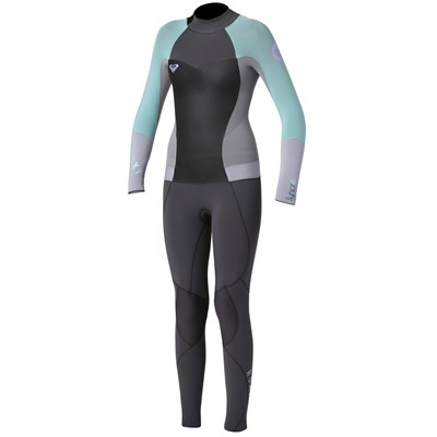 Roxy Syncro 3/2 Back Zip Flat Lock Wetsuit - Big Girls'