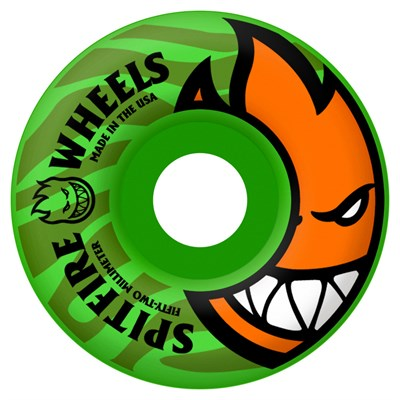 Spitfire Bighead Tonal Pop Green 99a Skateboard Wheels