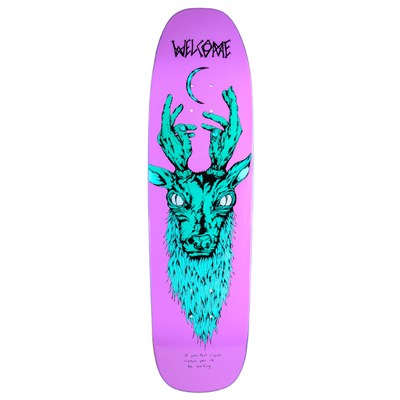 Welcome Lawrence Elk 8.75 On Nimbus 5000 Skateboard Deck