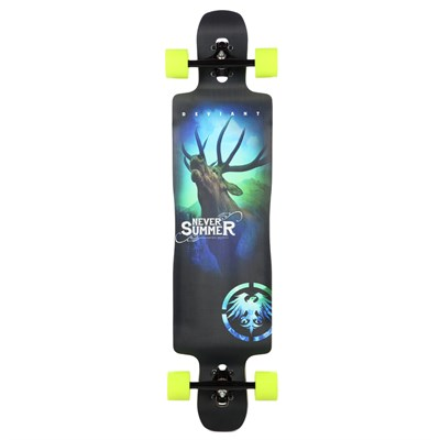 Never Summer Deviant Longboard Complete
