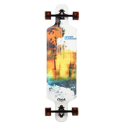 Never Summer Clutch Longboard Complete