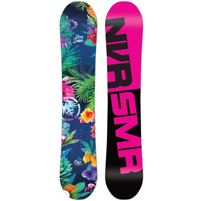 Never Summer Onyx Snowboard - Women's 2016