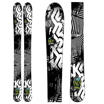 K2 Indy Skis - Boys' 2016