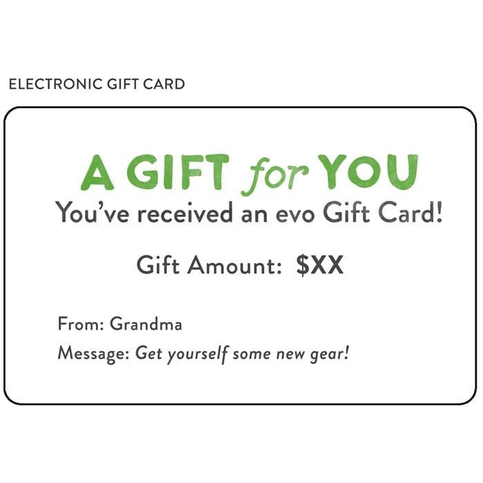 evo - Gift Card