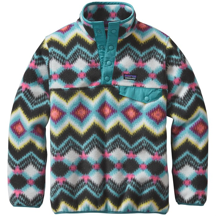 Patagonia Lightweight Synchilla Snap T Pullover Fleece