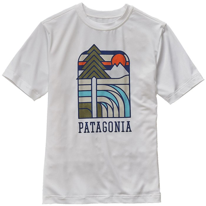 1d3ebe53 Patagonia Capilene Daily Graphic T-Shirt (Ages 8-14) - Boys' | evo