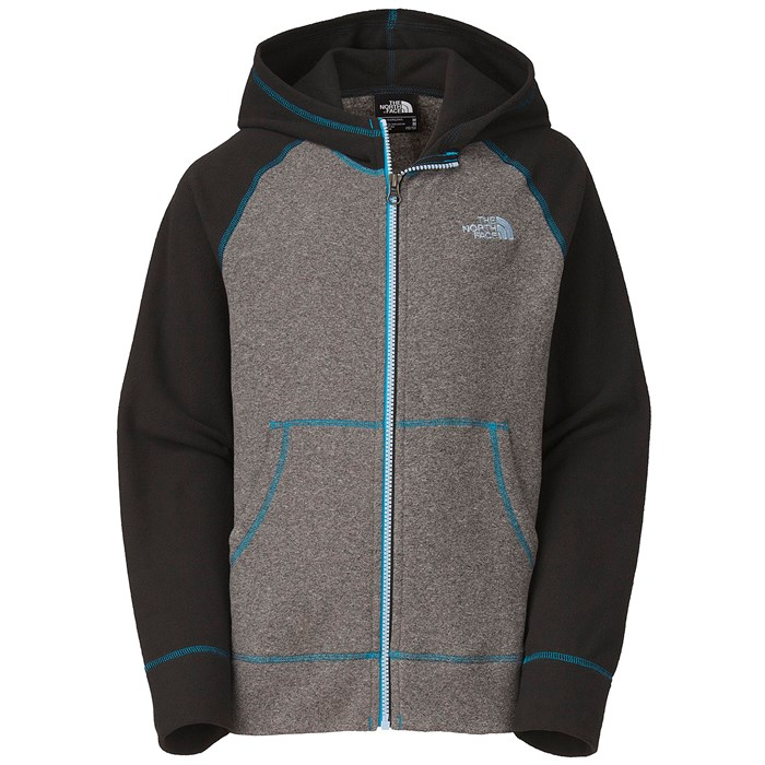 e6be739fc The North Face Glacier Full Zip Hoodie - Boys