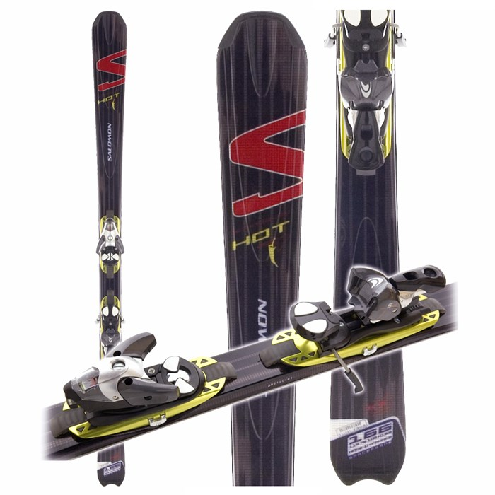 50145593e8bd Salomon - Scrambler Hot Skis + Salomon Bindings 2006 ...