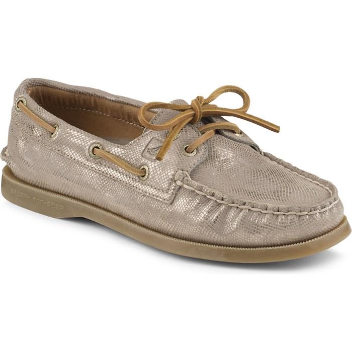 Womens A/O 2-Eye Metallic Boat Shoes Sperry Top-Sider MJRNupJwRU