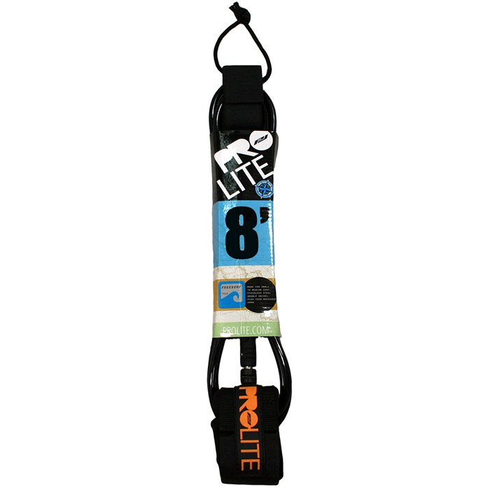 Pro-Lite - 8' Freesurf Double Swivel Surfboard Leash