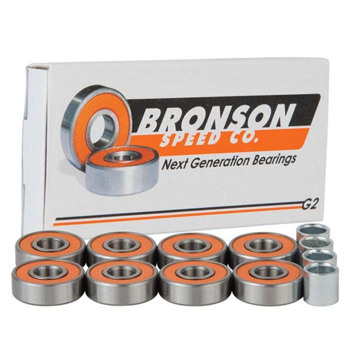 Bronson - Speed Co G2 Skateboard Bearings