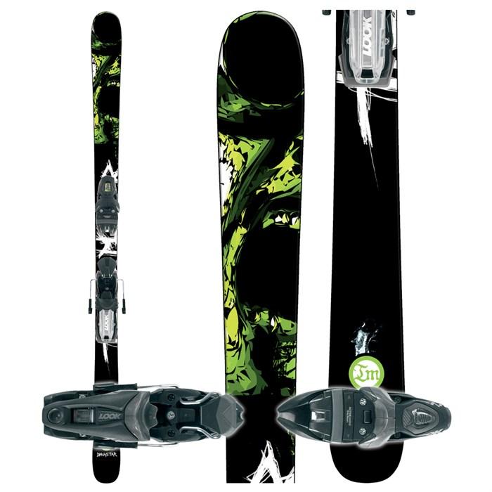 Dynastar Trouble Maker Skis + Look NX 11 Ski Bindings 2007