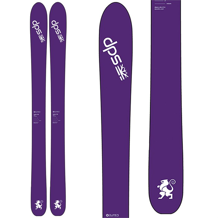 DPS - Zelda 106 Pure3 Skis - Women's 2017