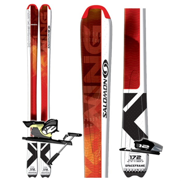Evo Bindings Salmon Skis 2007 Z12 Ti X Wing Fury Salomon SZzRv