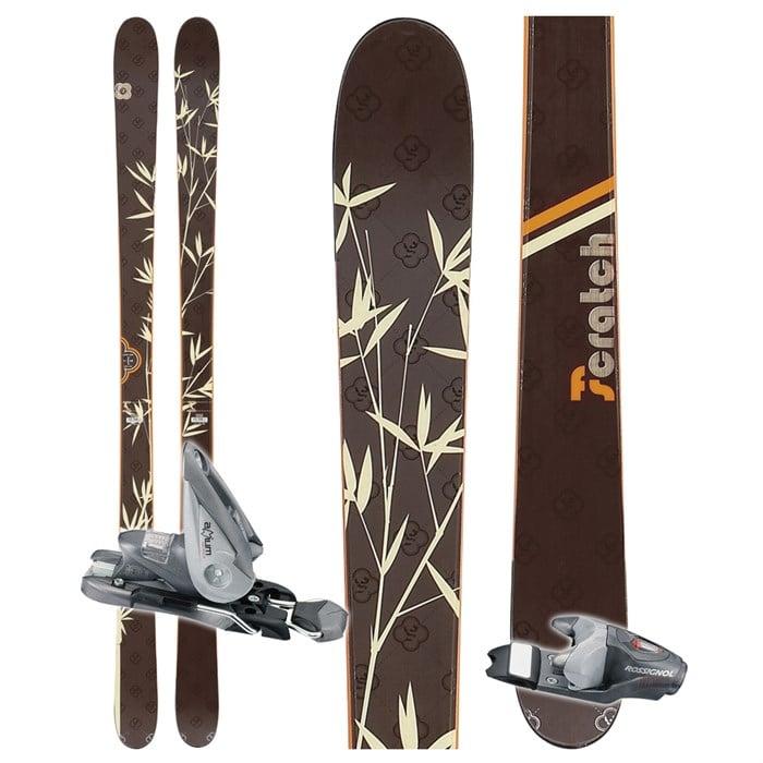 Rossignol Scratch Girl FS Skis + Rossignol Axium 100