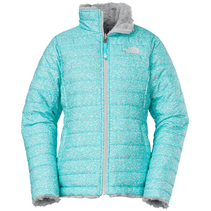 625d498db The North Face Reversible Mossbud Swirl Jacket - Girls