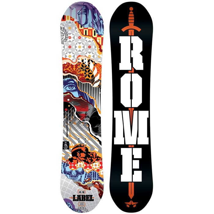 Rome - Label Snowboard - Boys' 2016