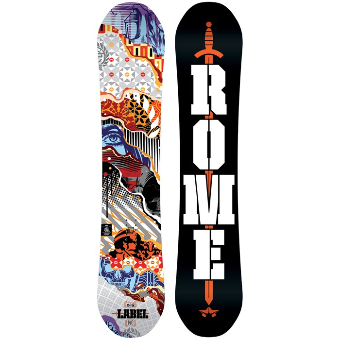 Rome - Label Snowboard - Boys' 2016