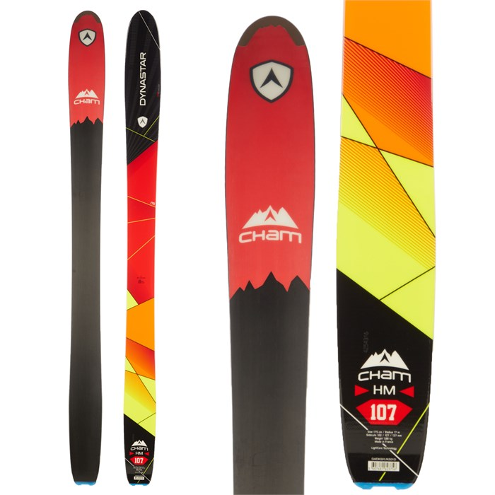 Dynastar - Cham High Mountain 107 Skis 2015