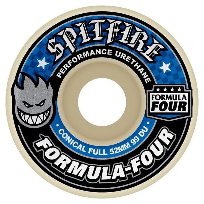 Spitfire - Formula Four Conical Full 99a Skateboard Wheels
