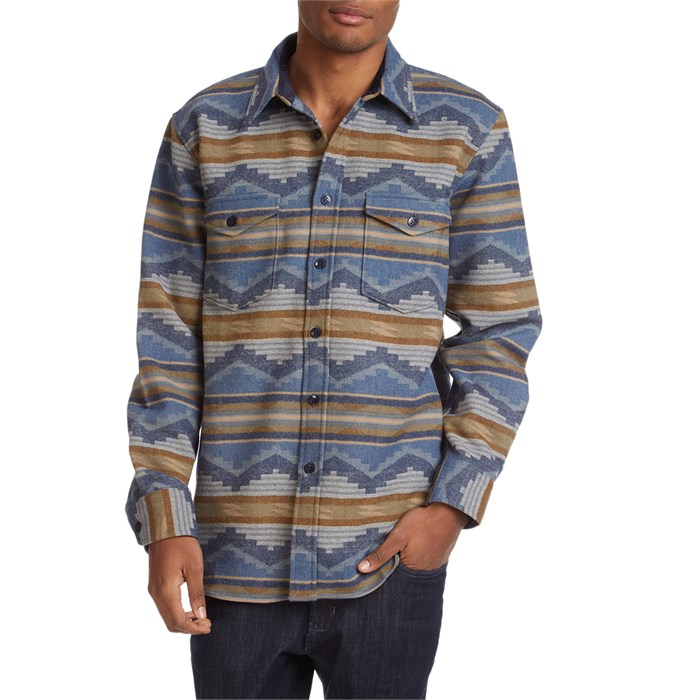 Pendleton - Pine Top Fitted Long-Sleeve Button-Down Shirt